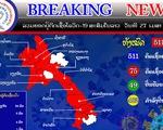 Dịch tại Lào lan rộng ra 15/18 tỉnh, 8 tỉnh giáp biên giới Việt Nam