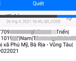 Quét mã QR trên căn cước công dân gắn chip sẽ thấy thông tin cá nhân nào?
