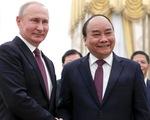Ông Putin, ông Tập chúc mừng tân Chủ tịch nước Nguyễn Xuân Phúc