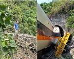 Lộ ảnh quản lý công trường gây tai nạn đường sắt thảm khốc vô cảm đứng nhìn nạn nhân