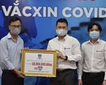 ĐH Nguyễn Tất Thành trao 50 triệu đồng