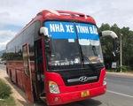 5 người Trung Quốc trốn trong thùng cactông trên xe khách từ Bắc Giang vào TP.HCM
