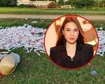 Sân Phú Thọ ngập rác sau 1 tuần do Mỹ Tâm