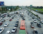 Chiều về Hà Nội nhiều xe nhưng