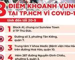 Những nơi nào ở TP.HCM đang khoanh vùng vì COVID-19?