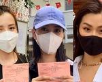 Hoa hậu Tiểu Vy, á hậu Diễm Trang, hoa khôi Thúy Vi háo hức đi bầu cử