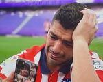 Suarez bật khóc:
