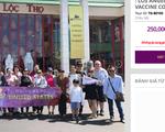 Tạm ngưng quảng cáo, chưa tổ chức tour tiêm vắc xin tại Mỹ trong năm 2021