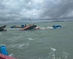 Cứu sống 3 thuyền viên bị chìm tàu vì sà lan đâm trúng