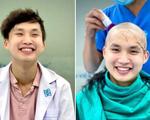 Bác sĩ trẻ cạo đầu trước khi vào tâm dịch: