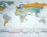 Phát hành bản đồ hành trình 30 năm tìm đường cứu nước của Bác Hồ