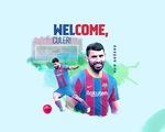 Aguero gia nhập Barca với điều khoản