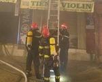 Cứu 4 người thoát khỏi đám cháy sau khi TP.HCM giãn cách xã hội