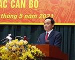 Tân Bí thư Hải Phòng Trần Lưu Quang vẫn tiếp xúc cử tri TP.HCM
