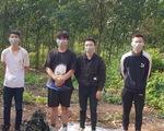 Biên phòng Bình Phước lại bắt nhóm người Trung Quốc đang vượt biên sang Campuchia