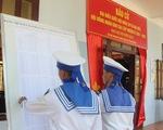 Huyện Trường Sa thực hiện 2 đợt bầu cử