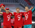 Bayern Munich lần thứ 9 liên tiếp vô địch Bundesliga