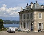 Biệt thự cổ ven hồ ở Geneva là