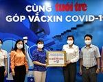 Từ viện dưỡng lão vẫn nhờ Hội phụ nữ gửi 500.000 ủng hộ Quỹ vắc xin COVID-19