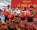 Cần Thơ tiêu thụ 200 tấn vải thiều Bắc Giang