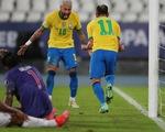 Neymar lập công giúp Brazil thắng