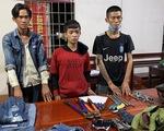 Công an mật phục bắt 3 thanh niên trộm cáp điện hệ thống camera trên cao tốc