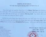 Phú Yên truy tìm người phụ nữ mắc COVID-19 bỏ trốn
