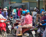 Tạm ngưng chợ Hòa Hưng, quận 10 do liên quan ca COVID-19