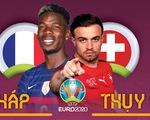 So sánh sức mạnh của Pháp và Thụy Sĩ ở vòng 16 đội Euro 2020