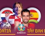 So sánh sức mạnh của Croatia và Tây Ban Nha ở vòng 16 đội Euro 2020