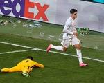 Morata và bàn thắng dành cho vợ con