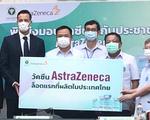 Thái Lan nhận lô vắc xin AstraZeneca nội địa đầu tiên