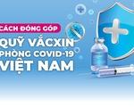 Infographic cách đóng góp vào Quỹ vắc xin phòng chống COVID-19