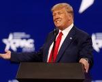 Phát biểu đầu tiên sau nhiều tháng, sự kiện của ông Trump sạch vé