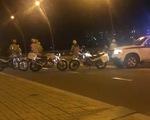 Bị CSGT vây bắt, nhóm