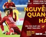 Quang Hải được bầu chọn là cầu thủ xuất sắc nhất trận Việt Nam - Indonesia