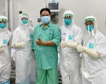 Chiến sĩ công an quận Tân Phú mắc COVID-19 nặng đã hồi phục, xét nghiệm âm tính lần 1