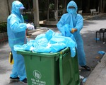 Đã dọn sạch rác thải ở khu cách ly điểm trường Phú Lợi