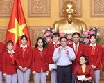 Thủ tướng gặp đoàn thể thao Việt Nam tham dự Olympic Tokyo