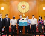 Ngân hàng của Hàn Quốc ủng hộ 6 tỉ đồng cho Quỹ Vắc xin phòng, chống COVID-19