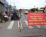 Phong tỏa phường Hiệp Bình Phước, tạm phân luồng qua quốc lộ 13 cho dân quen