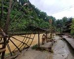 Khu du lịch bản Cát Cát - Sa Pa hư hỏng nhiều hạng mục do mưa lũ, thiệt hại 2 tỉ đồng