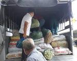 70 tấn gạo, rau củ quả từ An Giang xuyên đêm tiếp tế TP.HCM