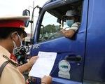 Không yêu cầu tài xế chở hàng ở 19 tỉnh, thành phía Nam phải có giấy