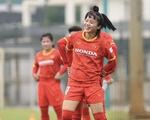 Đội tuyển nữ Việt Nam hứng khởi trong ngày đầu tập luyện