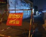 TP.HCM: Cháy nhà trong hẻm phong tỏa do COVID-19, một người chết