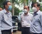 Chủ tịch Nguyễn Thành Phong kiểm tra công tác điều phối cấp cứu bệnh nhân mắc COVID-19 nặng