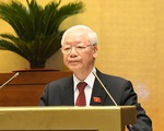 Tổng bí thư Nguyễn Phú Trọng: Quốc hội ưu tiên xây dựng mới luật ở các lĩnh vực trọng điểm