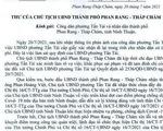 Chủ tịch TP Phan Rang - Tháp Chàm xin lỗi dân vì