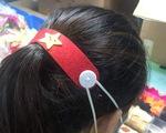 Hàng ngàn tai giả đeo khẩu trang từ Hà Nội gửi tặng TP.HCM chống dịch
